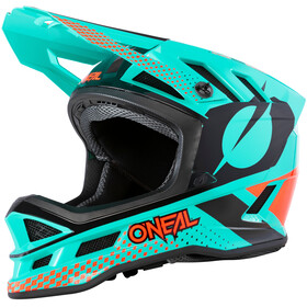 O'Neal Blade Polyacrylite Helm Delta, mint/orange/black